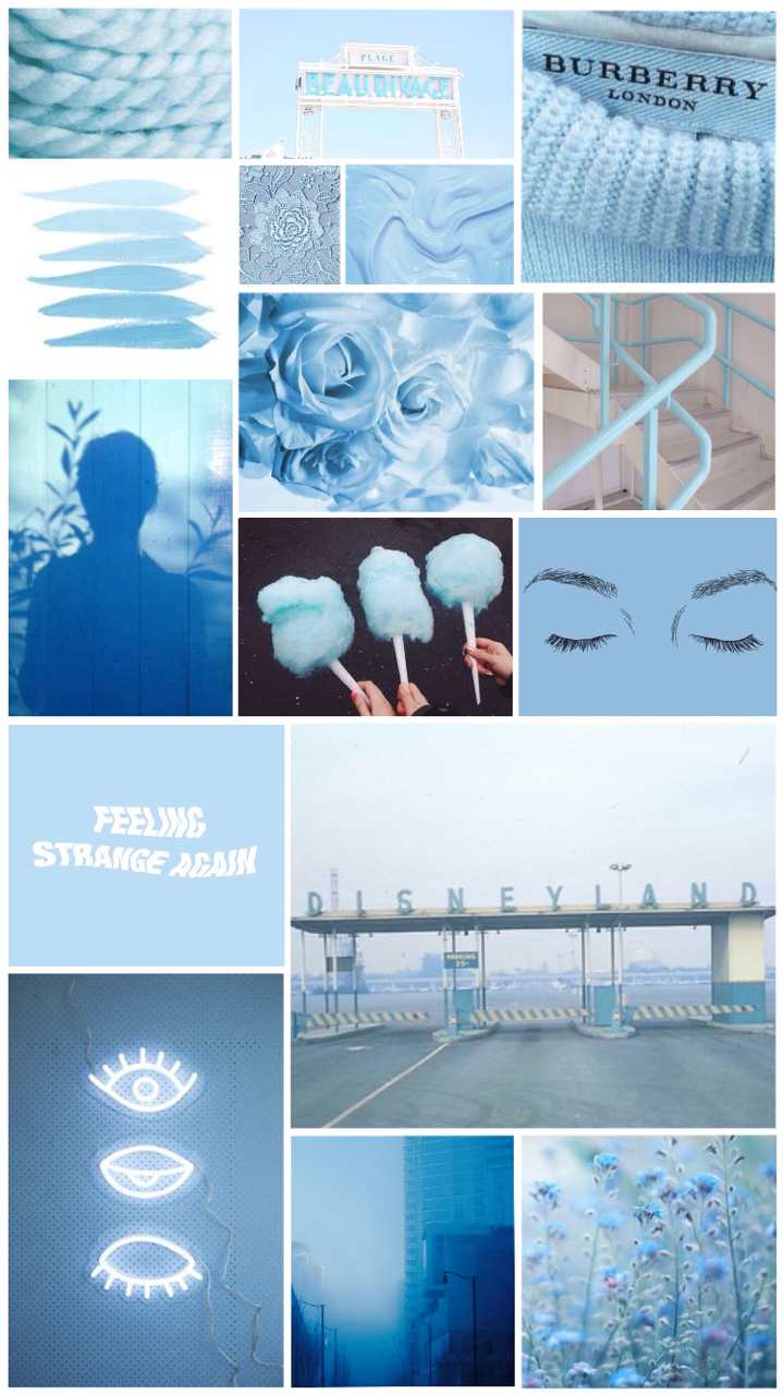Light Blue Aesthetic Wallpaper Posted By Ethan Johnson