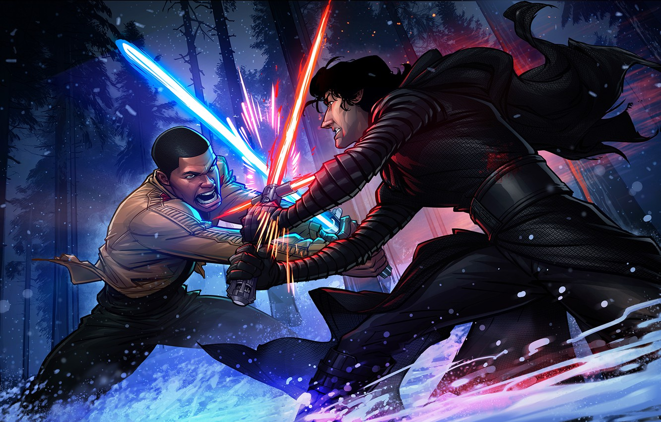 Lightsaber Duel Wallpaper Posted By Michelle Sellers