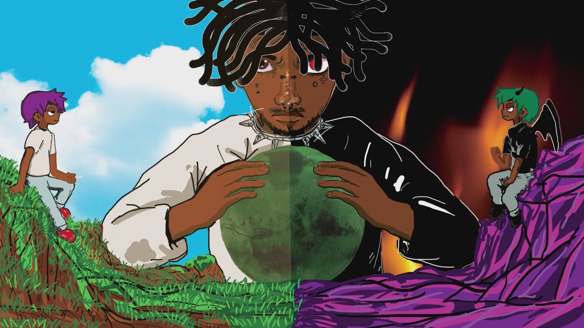 Lil Uzi Vert Cartoon Wallpapers Posted By Christopher Sellers