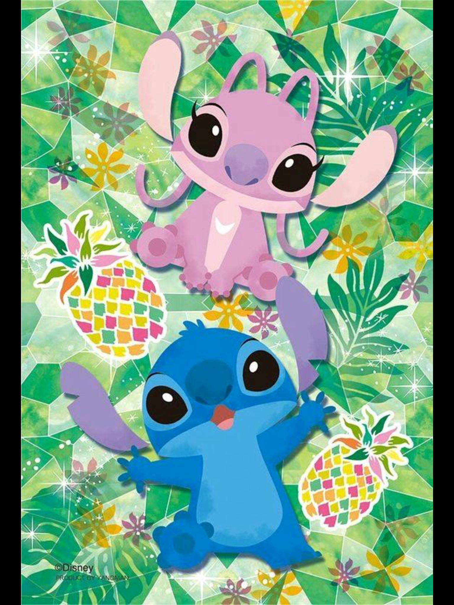 Stitch Wallpaper For Android Cute Angel From Lilo And