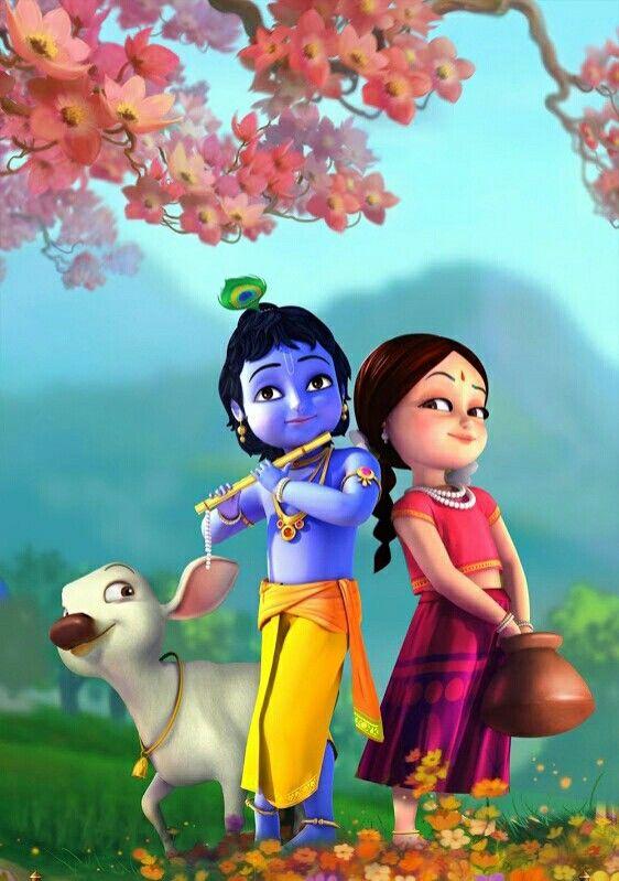 so cute in 2019 Lord krishna images Radha krishna