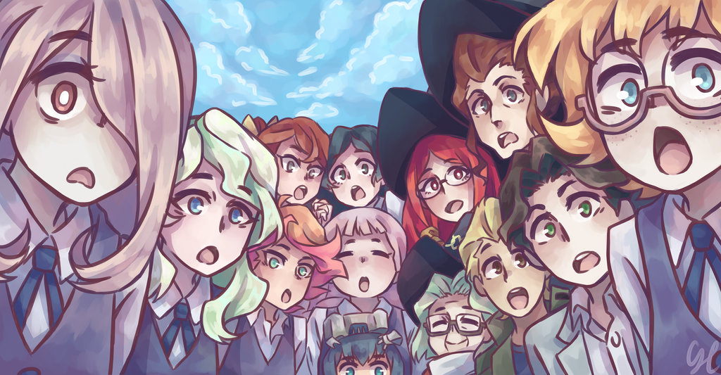 Little Witch Academia Hd Wallpaper Posted By Ryan Walker