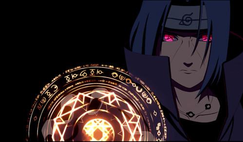 Naruto Itachi Uchiha Anime 4K Live Wallpaper a photo on