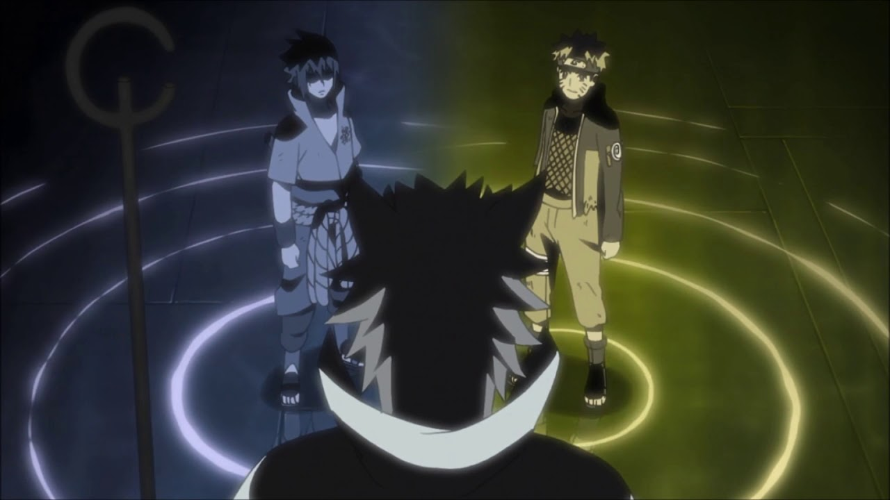 Naruto Sasuke and Hogoromo Live Wallpaper 1