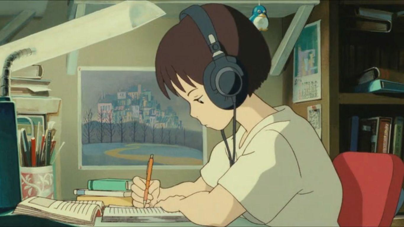Lo Fi Anime Chill Wallpapers Desktop Wallpaper