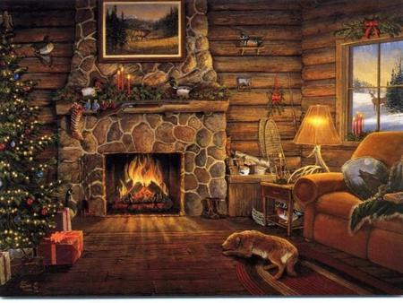 Log Cabin Wallpaper Posted By Samantha Anderson