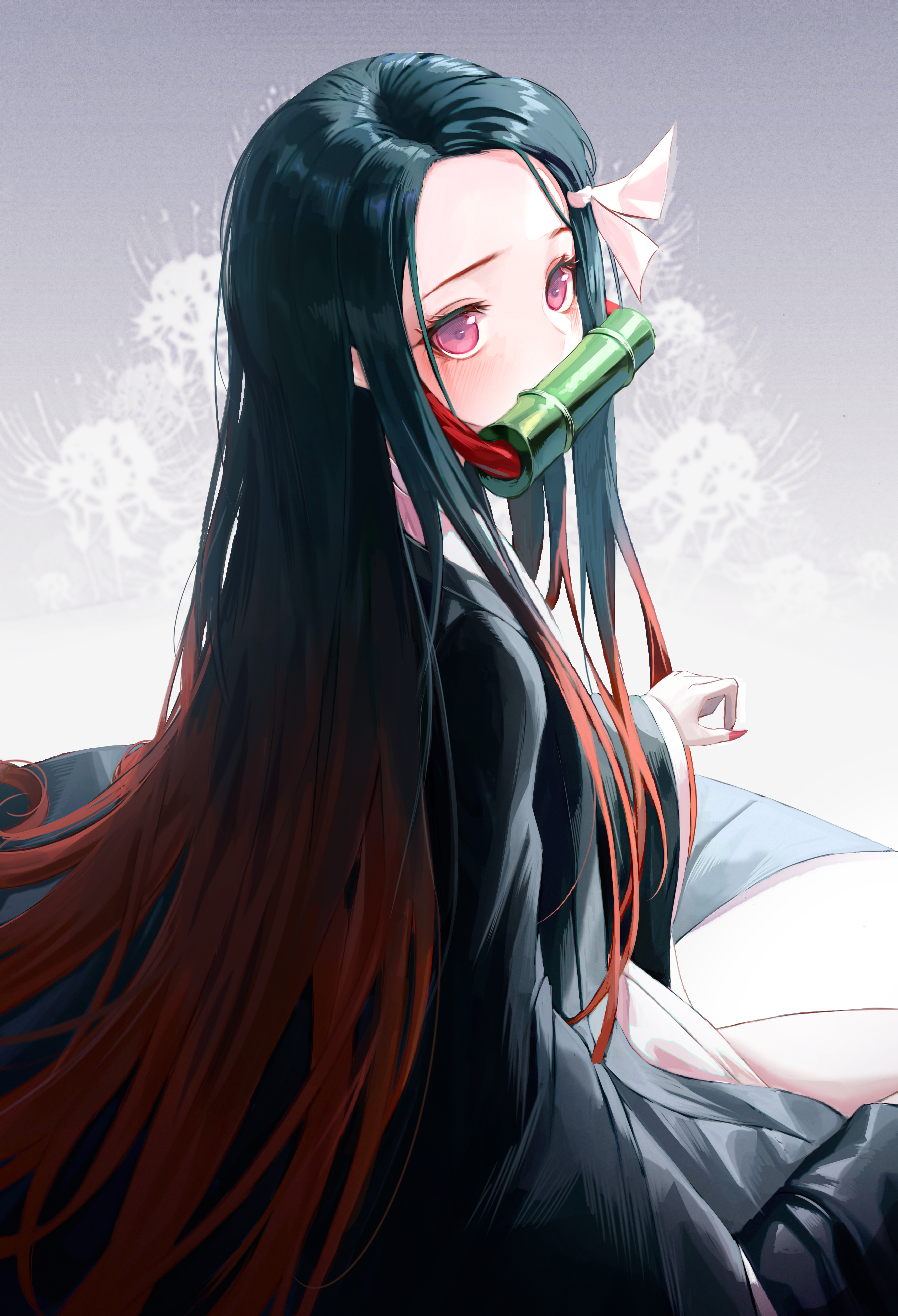 Long Hair Anime Girl Posted By Ethan Simpson