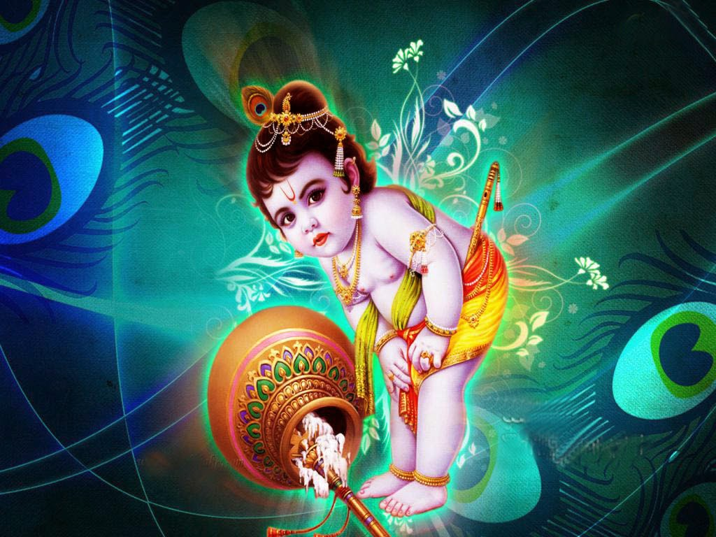 Lord Krishna 3d Wallpaper Posted By Michelle Thompson