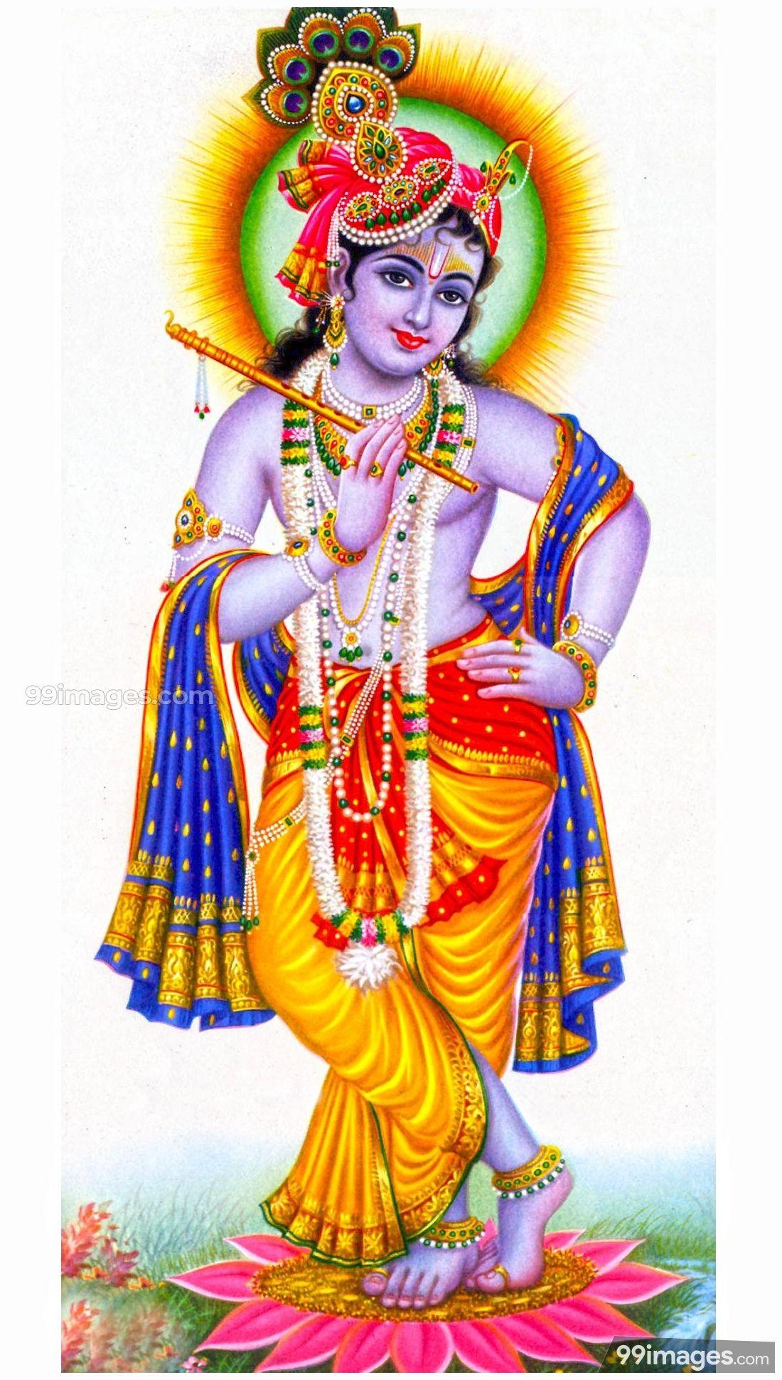 Lord Krishna Hd Wallpaper Posted By John Cunningham