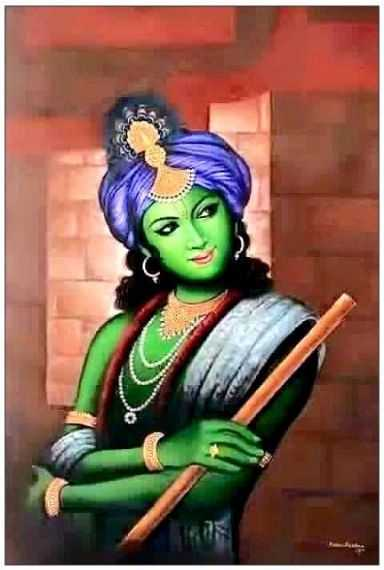 Flute Full HD Whatsapp DP Profile Status Krishna