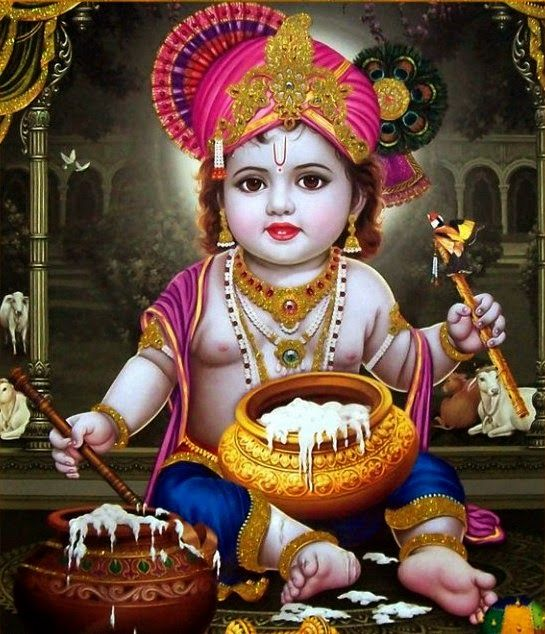 Lord Bal Krishna HD Wallpapers Bal Krishna Pictures Baby