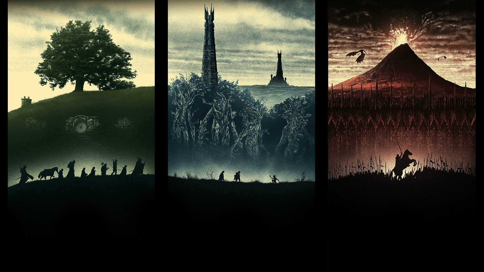 Lord Of The Rings Wallpaper 1920x1080 Posted By Christopher Peltier