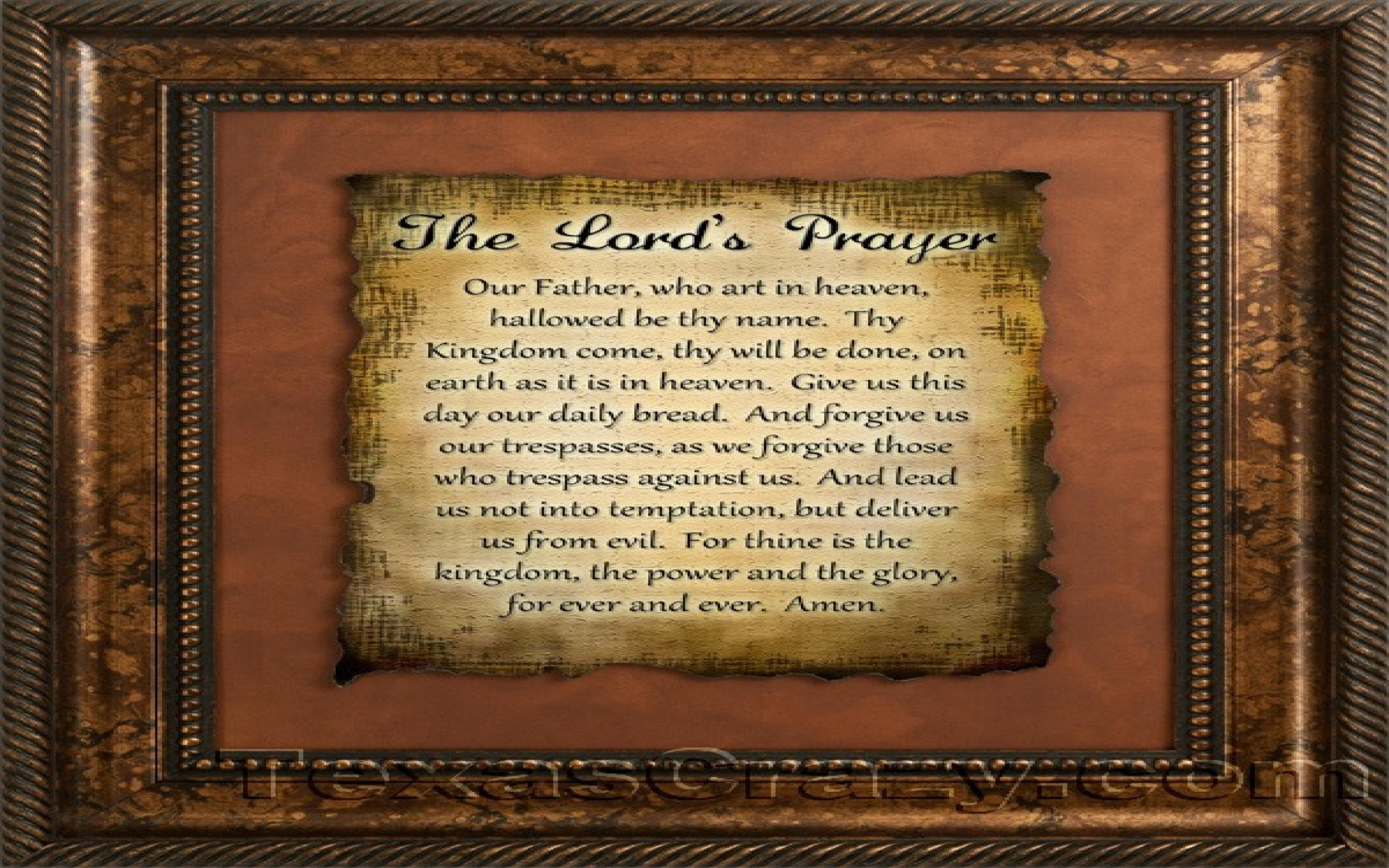 Lords Prayer Wallpaper Posted By Samantha Mercado