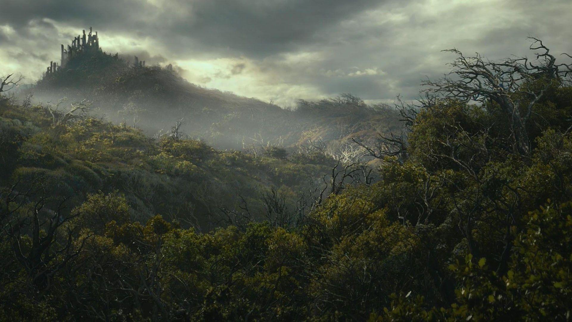 Hobbit Forest Zoom Background