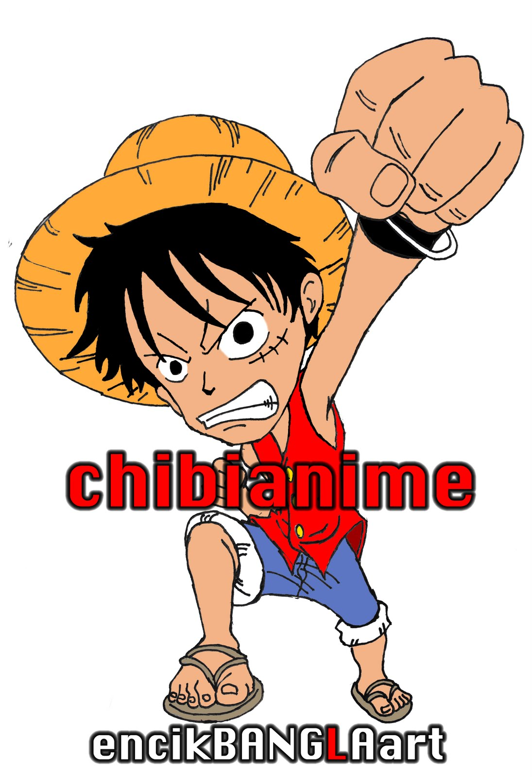 Luffy Chibi Wallpaper Posted By Christopher Mercado