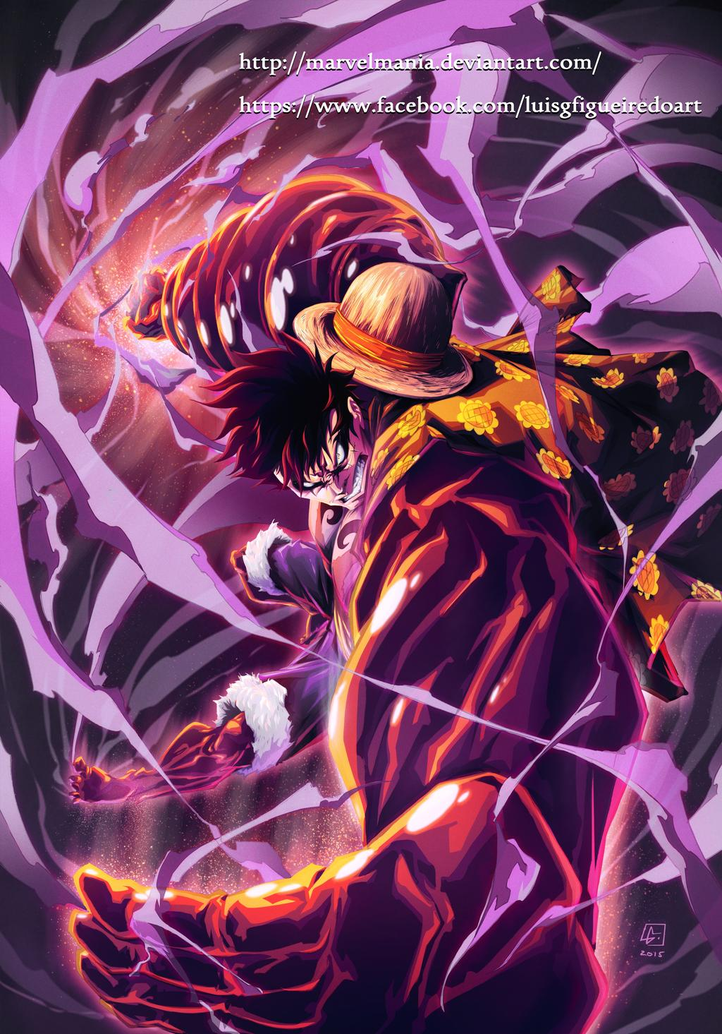 Luffy Gear 4 Wallpapers Posted By Sarah Peltier