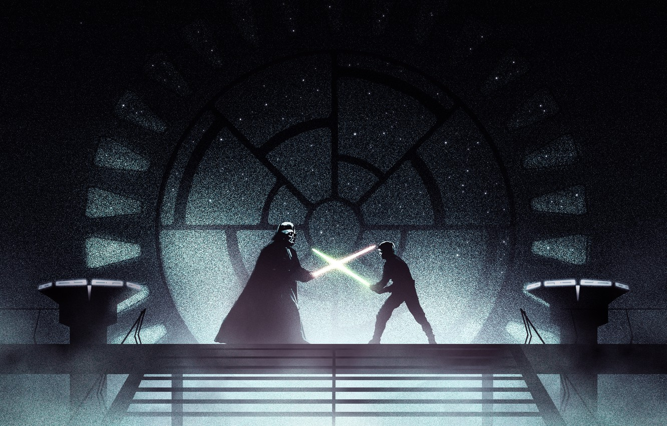 Luke Vs Vader Wallpaper Posted By Michelle Thompson