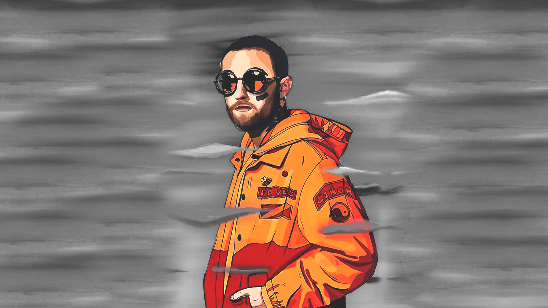 Mac Miller Pc Wallpaper Mac Miller Hd Wallpaper Rip