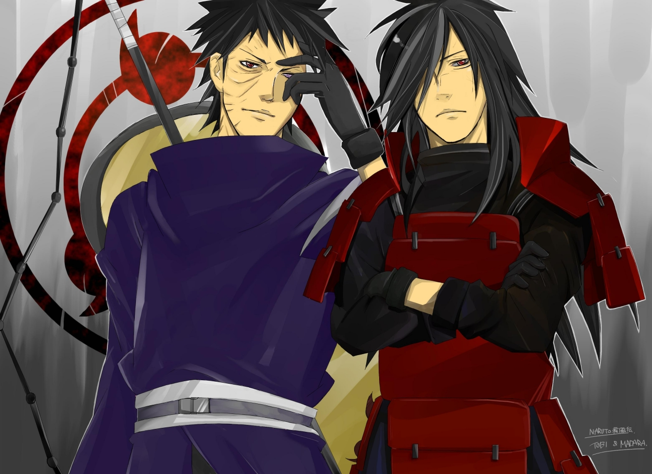 Free download Obito and Madara Uchiha Obito Fan Art 32278725