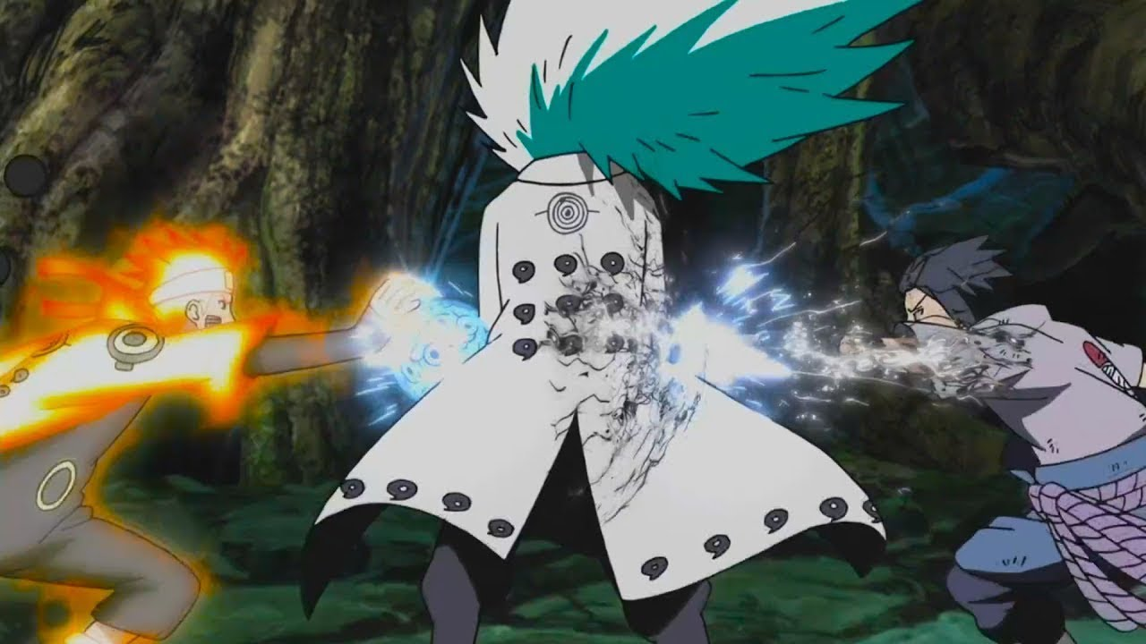 Madara Vs Naruto And Sasuke Posted By Michelle Simpson