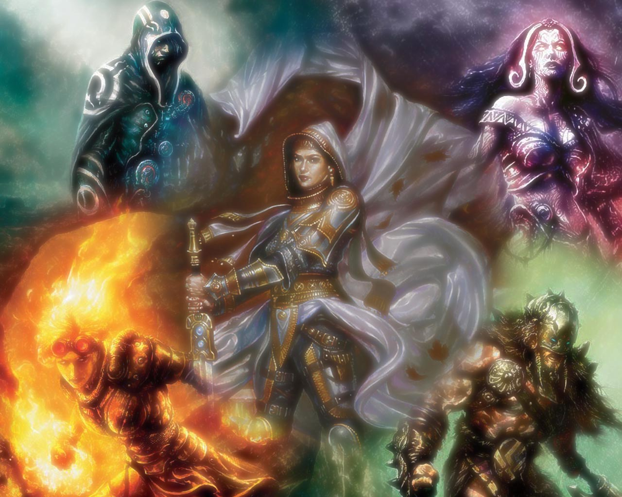 Magic The Gathering Wallpaper Hd Planeswalker Posted By Michelle
