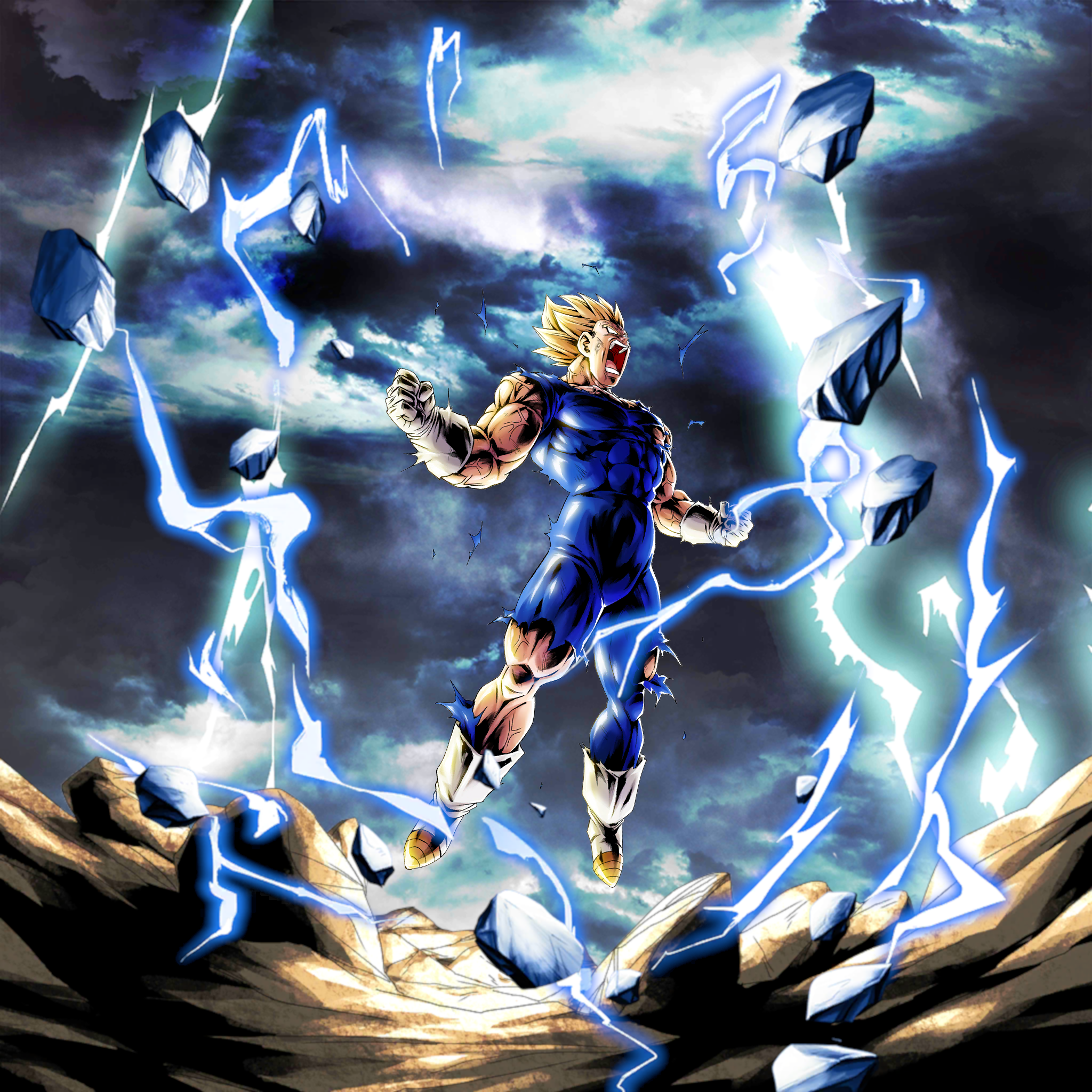 Majin Vegeta Wallpaper Posted By Ethan Thompson