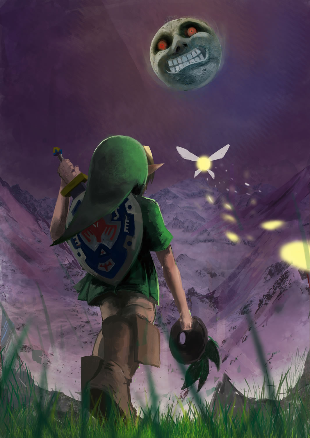 Majoras Mask Hd Wallpaper Posted By Christopher Mercado
