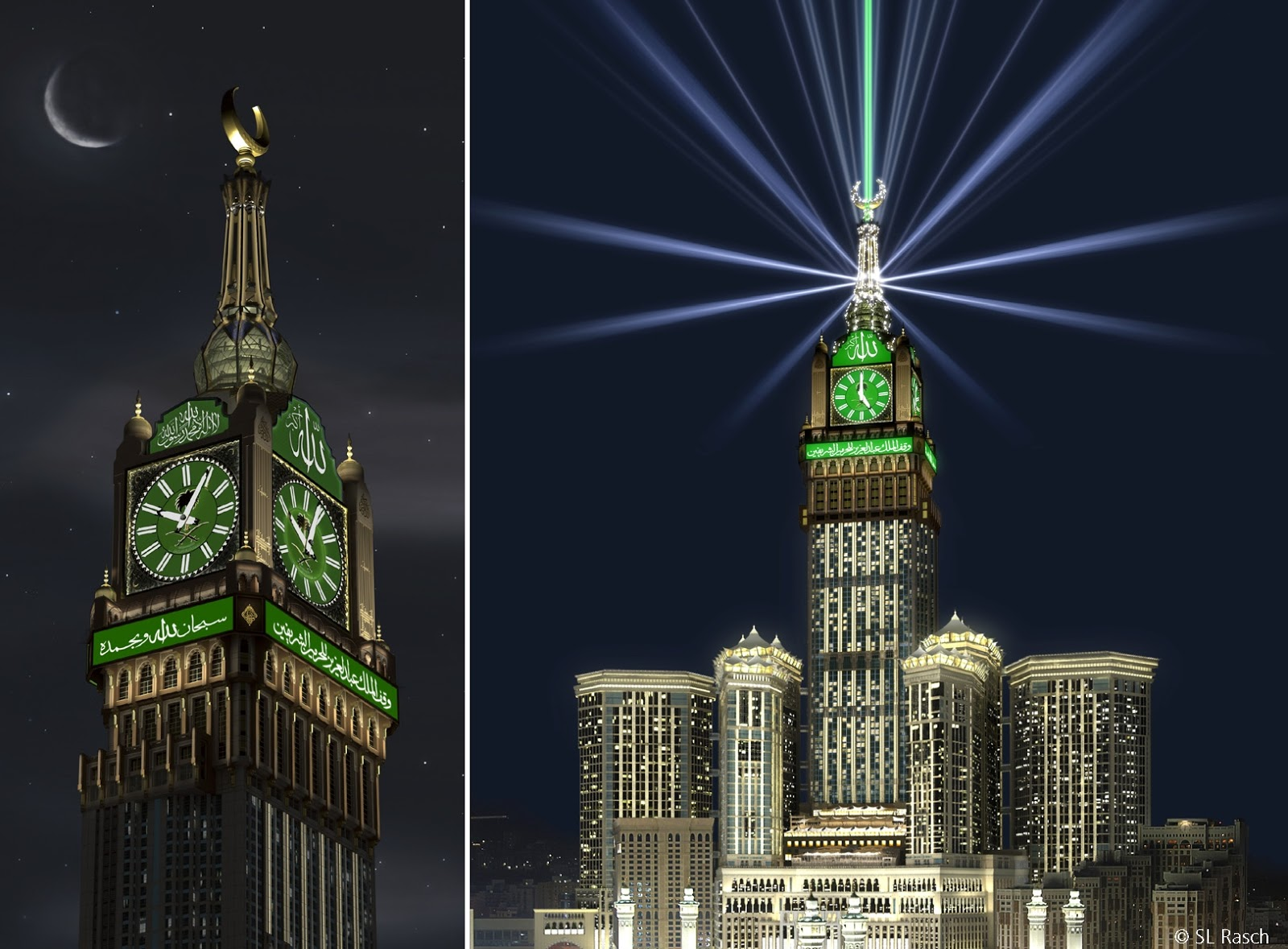 Makkah Clock Tower Wallpapers Posted By Ethan Tremblay