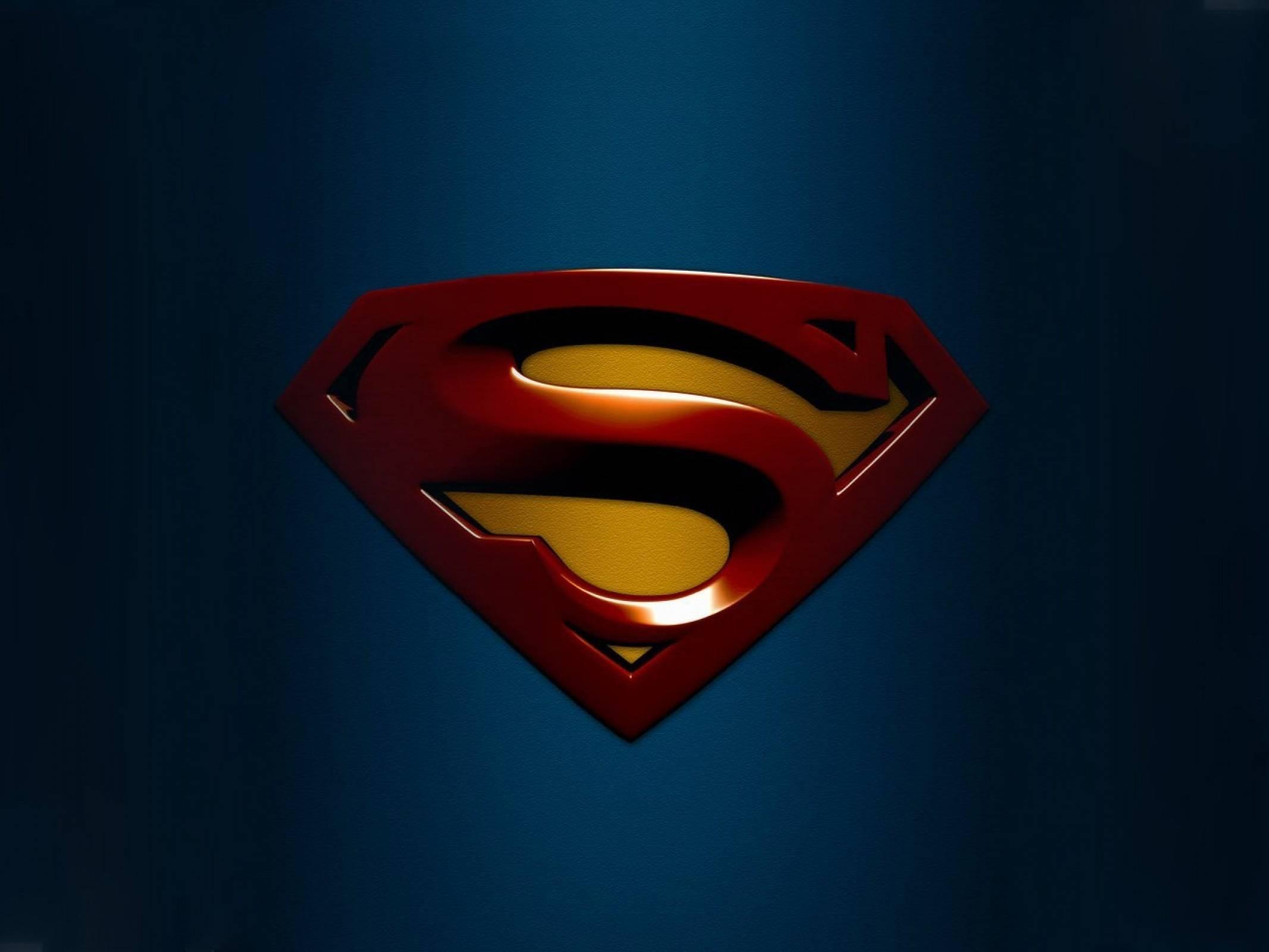 Man Of Steel Logo Wallpaper Posted By Ryan Walker
