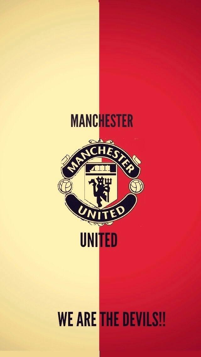 Man United Logo Wallpaper Posted By Christopher Johnson