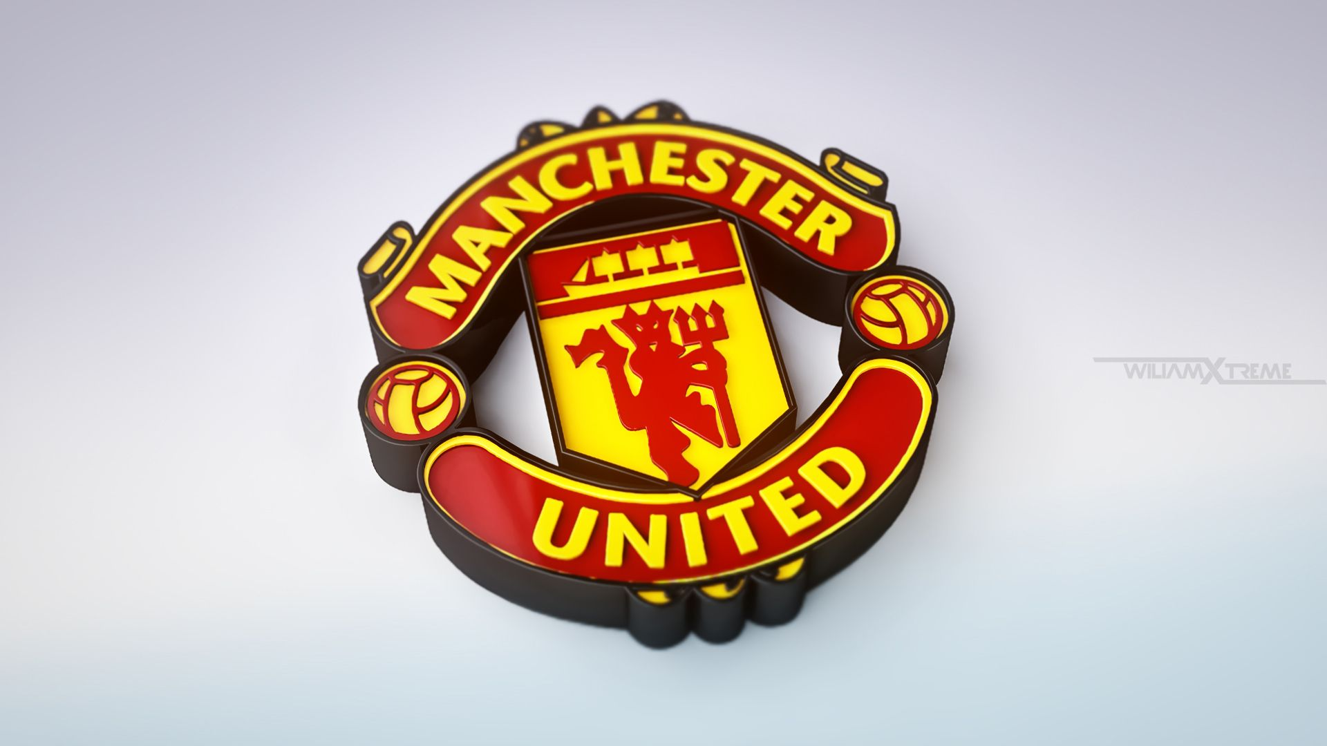 Manchester United Logo Wallpaper Posted By Sarah Thompson