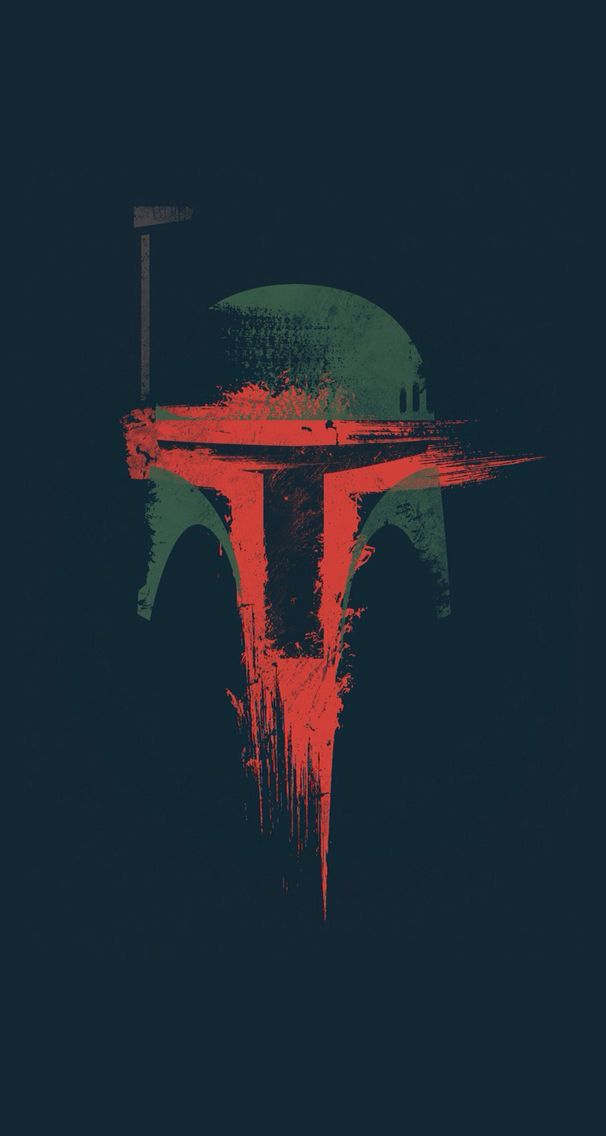 Boba Fett helmet iphone wallpaper Wallpaper Boba Star wars