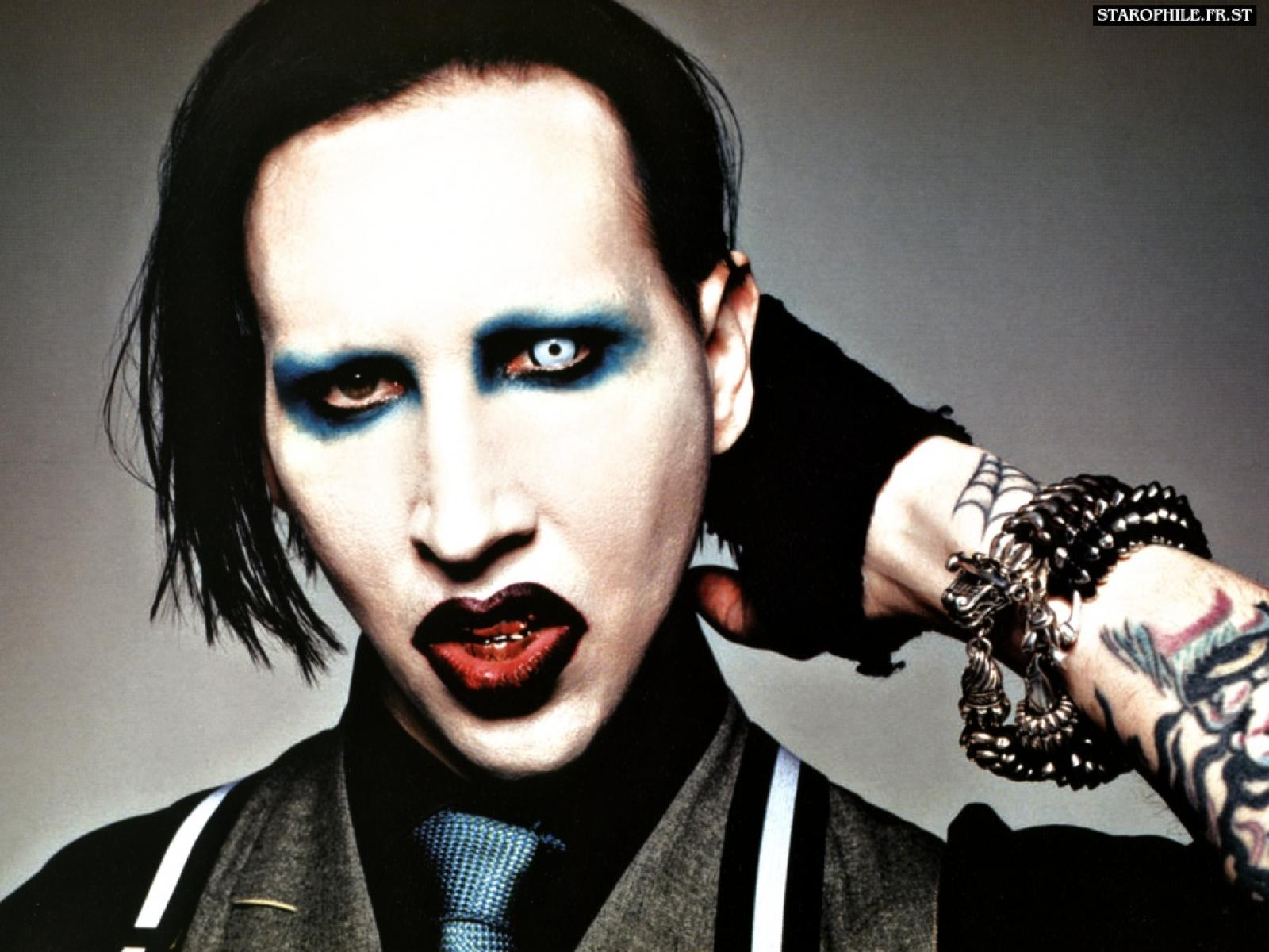 Marilyn Manson Iphone Wallpaper Posted By Zoey Johnson