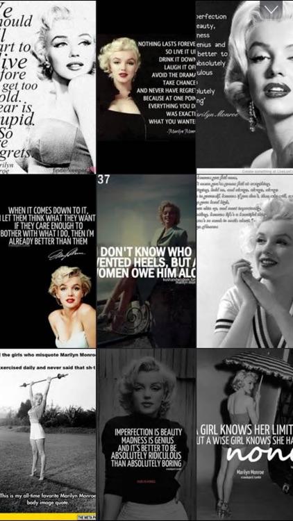 Marilyn Monroe Quotes Wallpaper