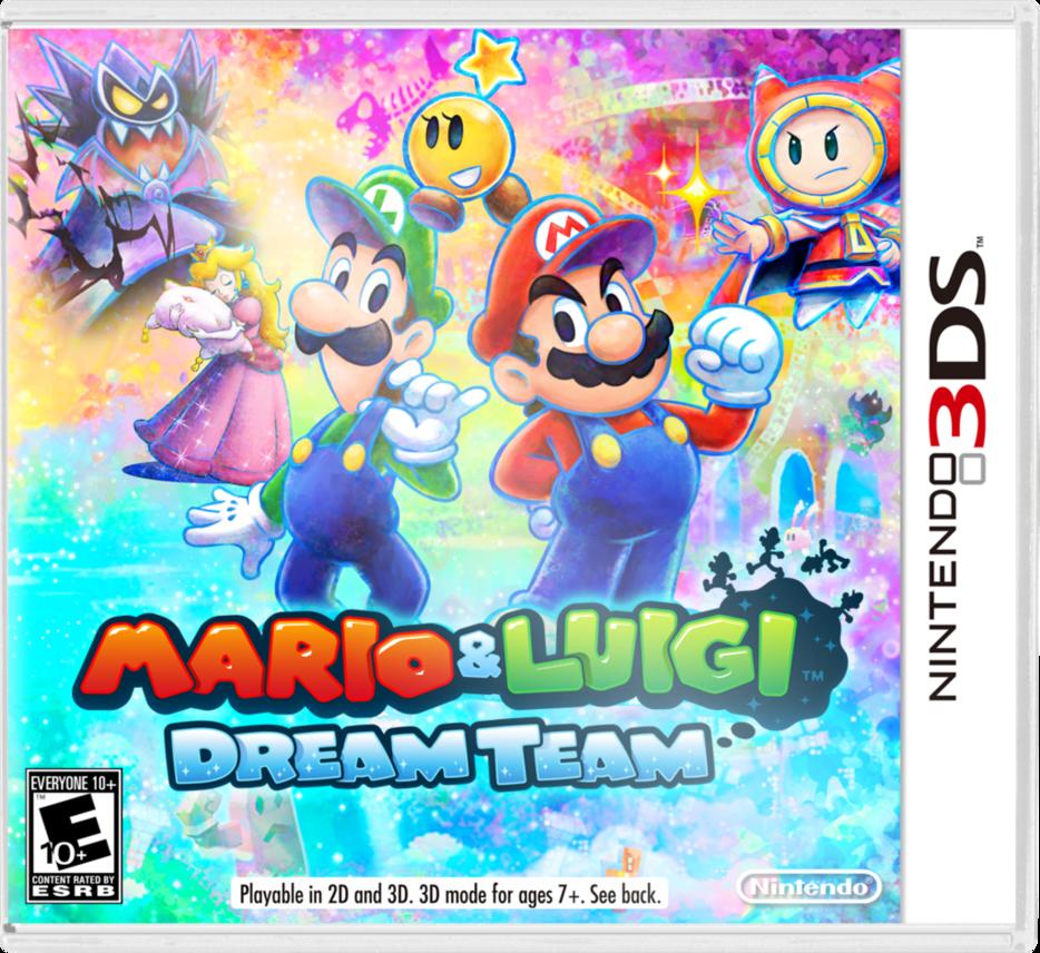 mario and luigi dream team wallpaper