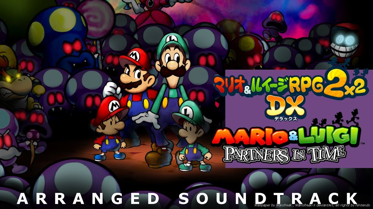 Mario And Luigi Partners In Time Wallpaper Posted By Michelle Peltier