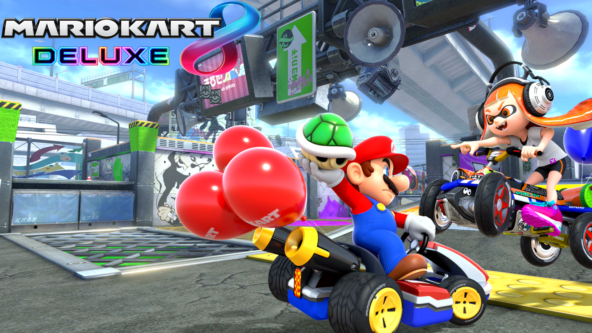 Mario Cart Backgrounds