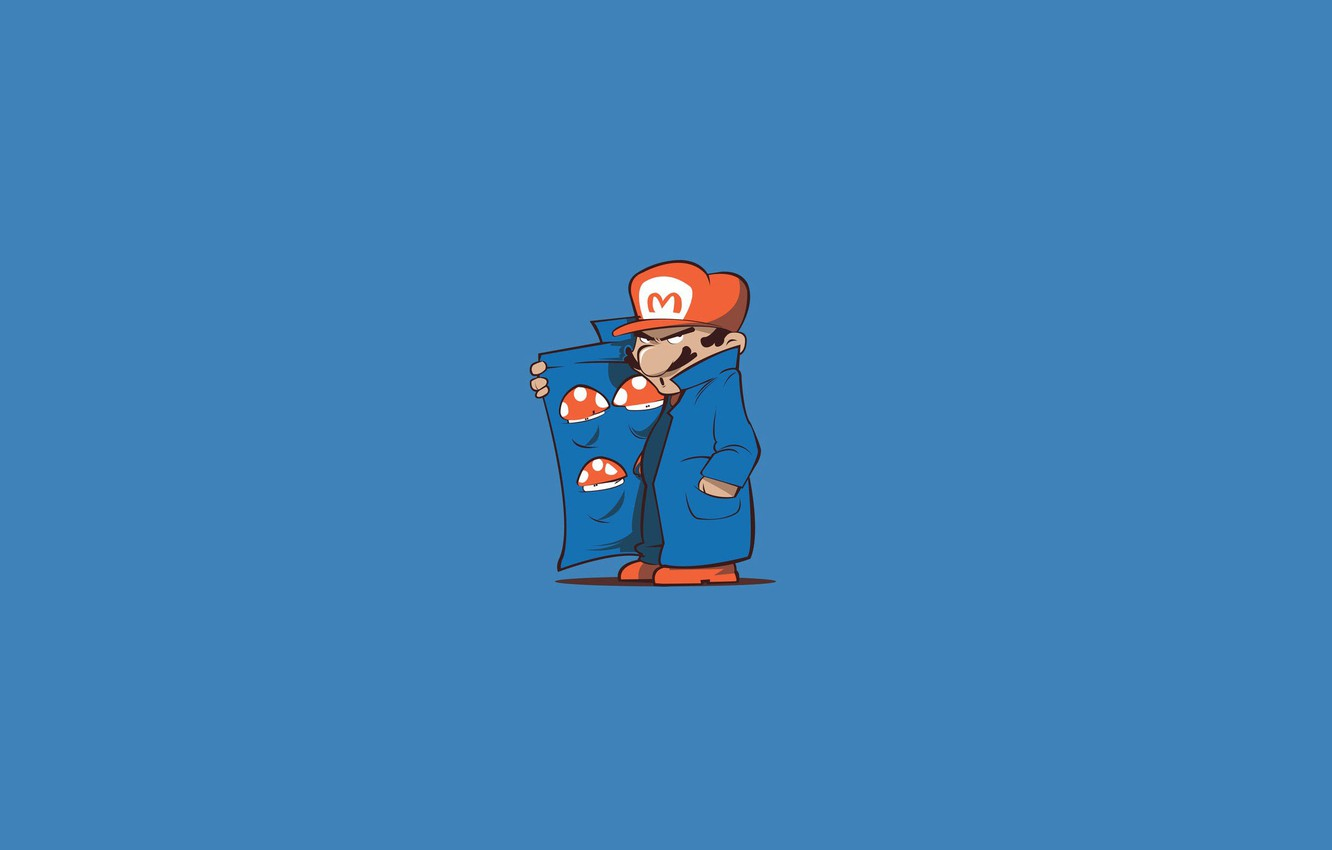 Mario Mushrooms Wallpaper Posted By John Peltier
