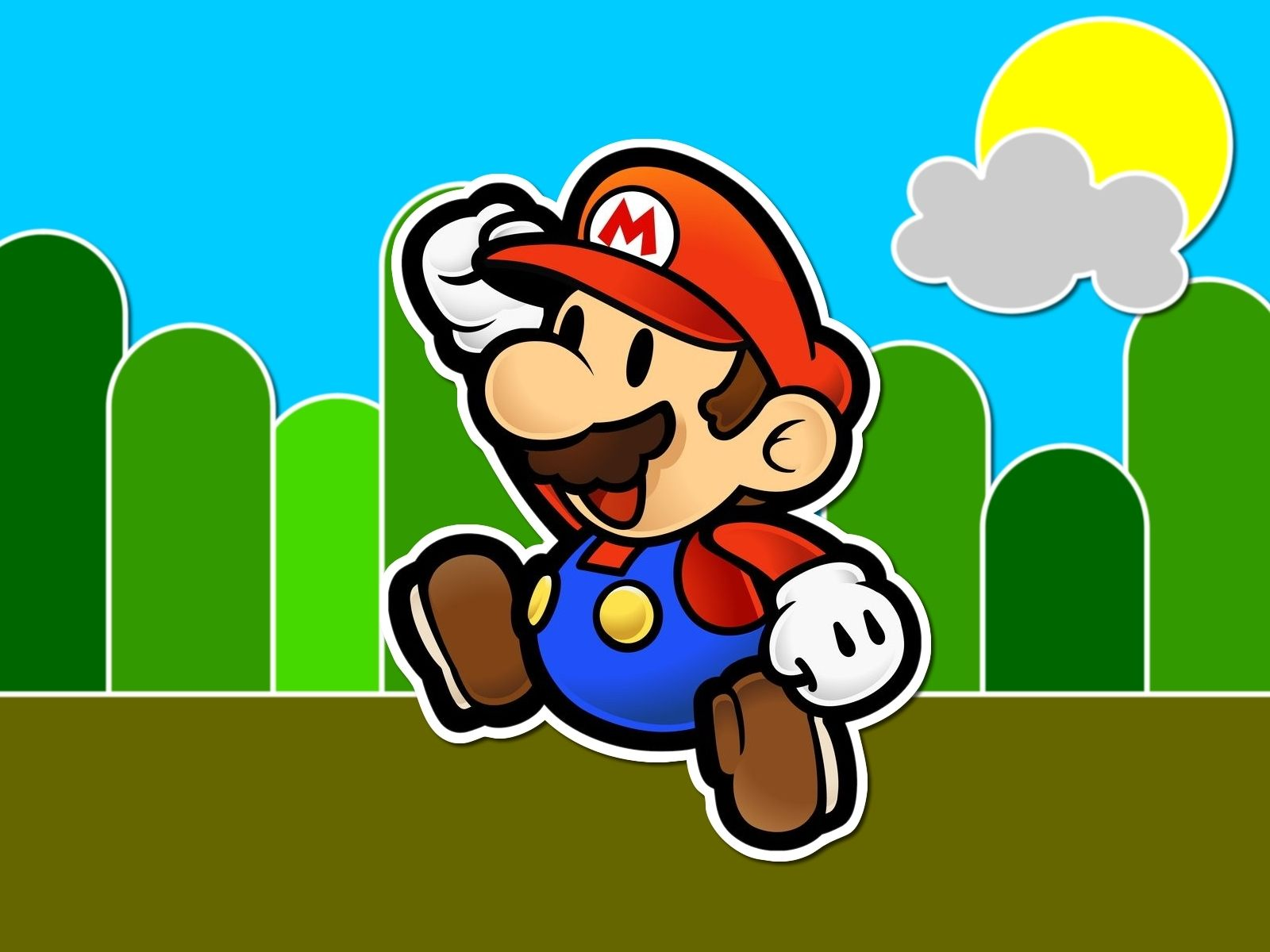 Mario Wallpapers Hd Posted By Samantha Peltier