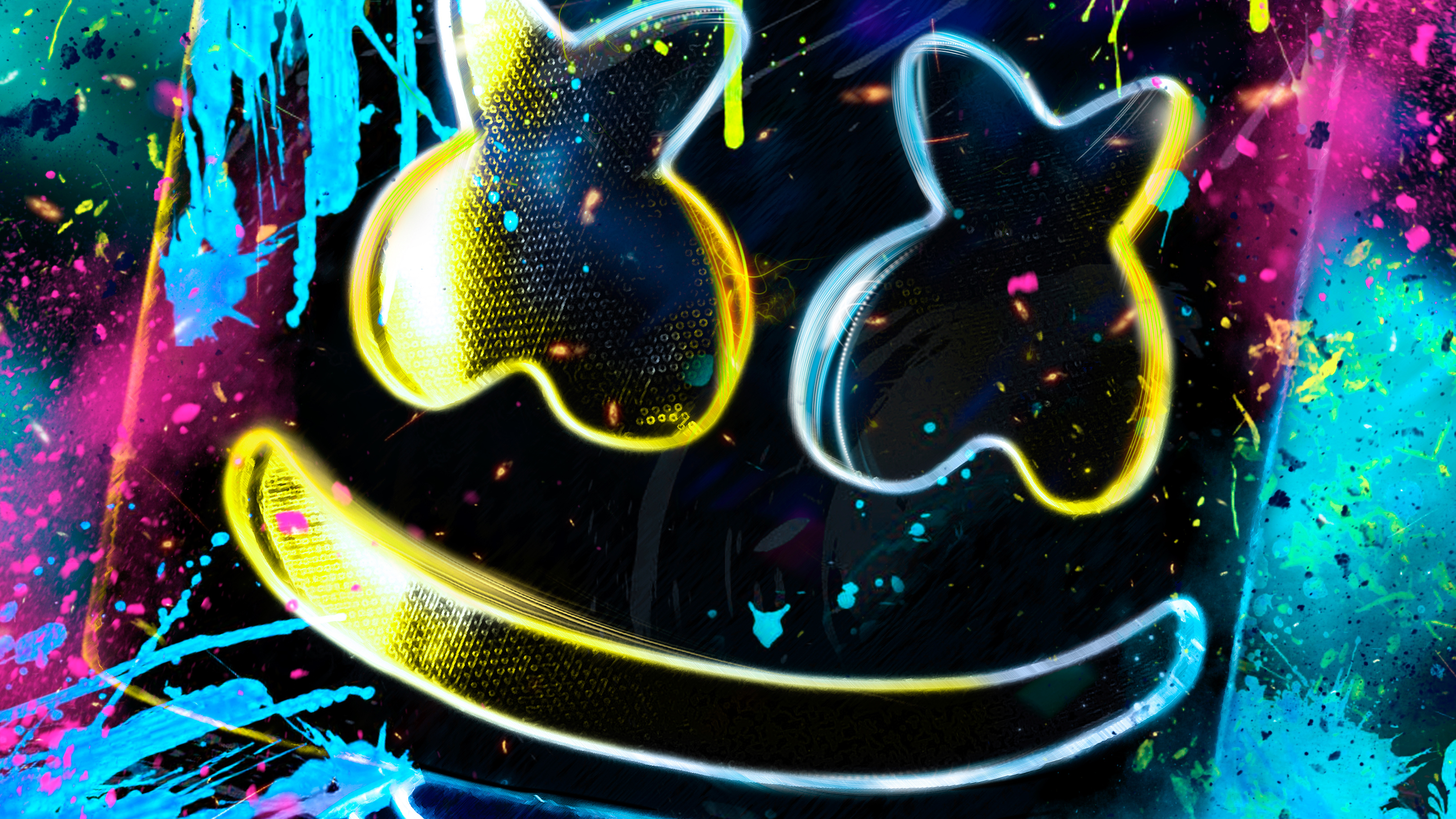 Marshmello Background Posted By Sarah Peltier