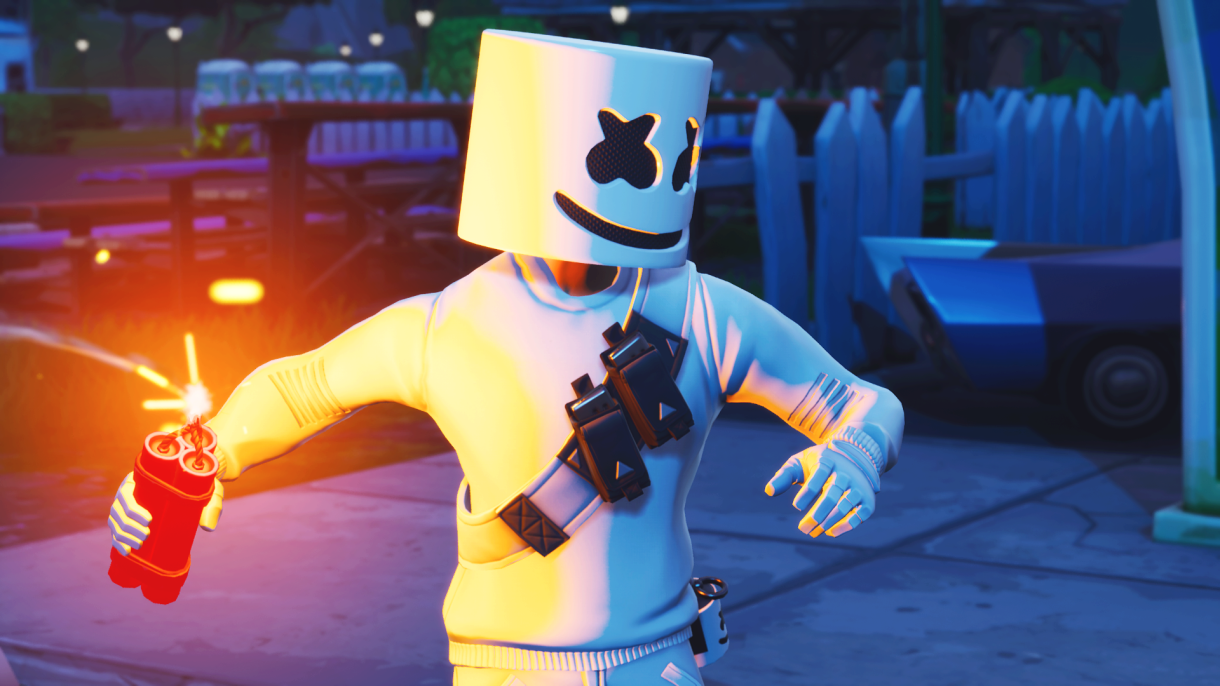 Marshmello Fortnite Wallpapers Posted By Ethan Johnson