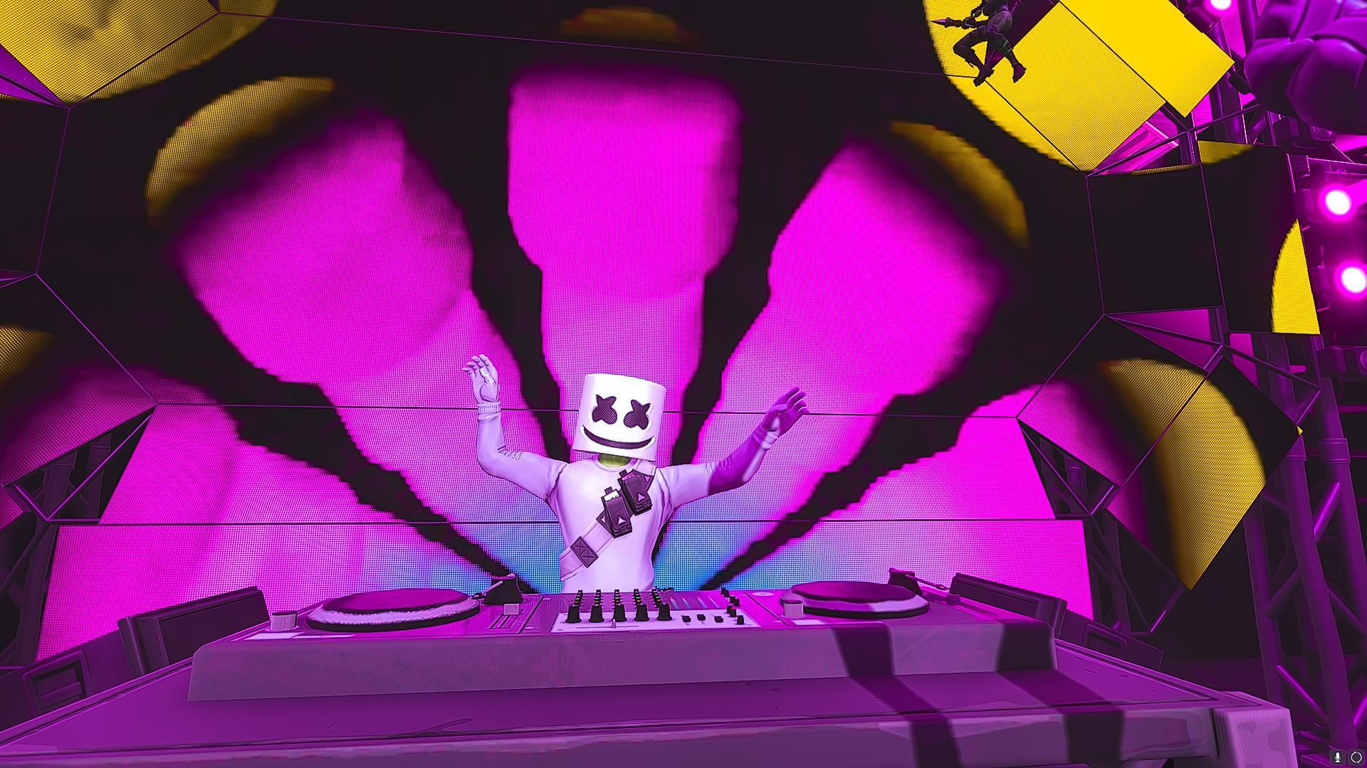 Marshmello Skin Fortnite Wallpapers Posted By Ryan Thompson