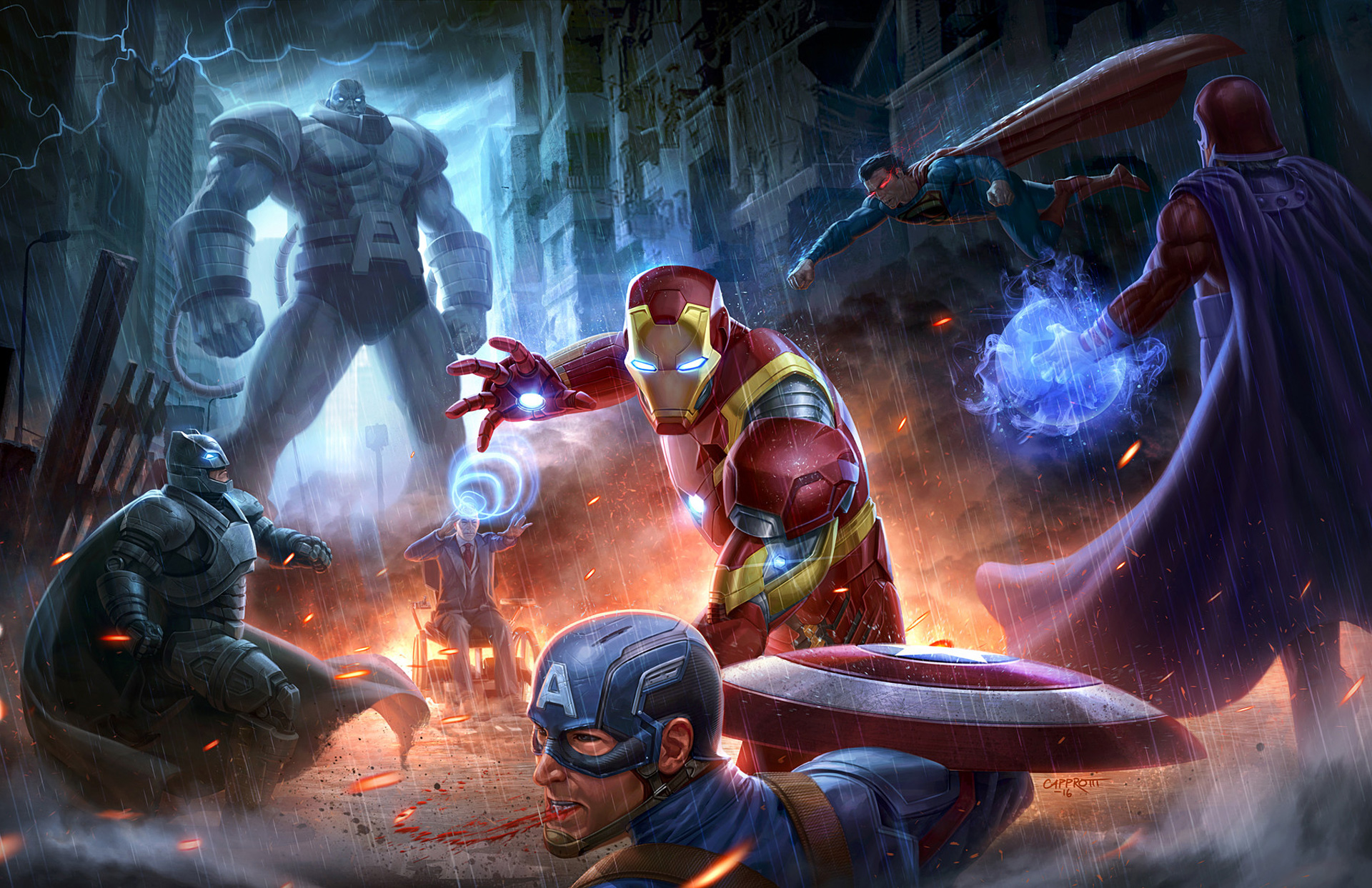 Marvel And Dc Wallpapers Posted By Michelle Johnson