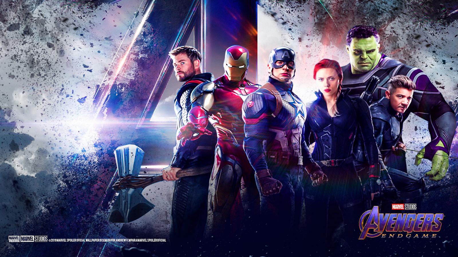 Marvel Avengers Endgame Wallpaper Posted By Ryan Simpson