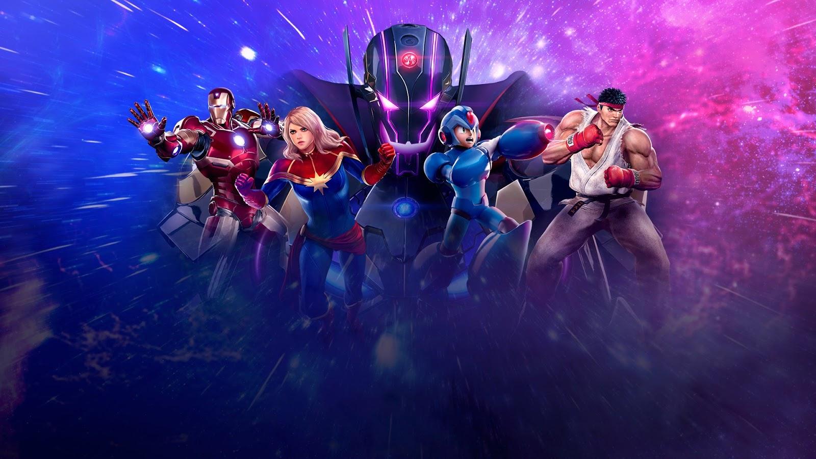Marvel Desktop Background
