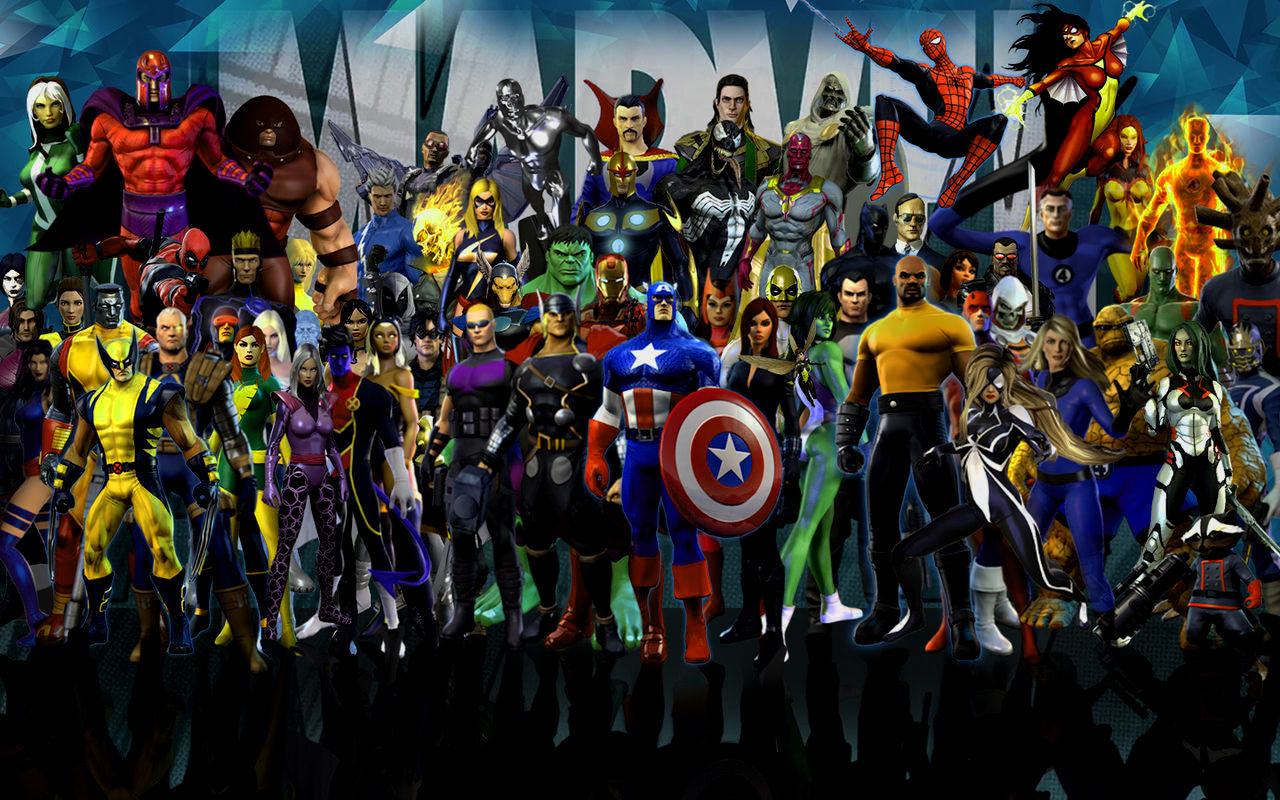 Marvel Hd Wallpapers Posted By Christopher Tremblay