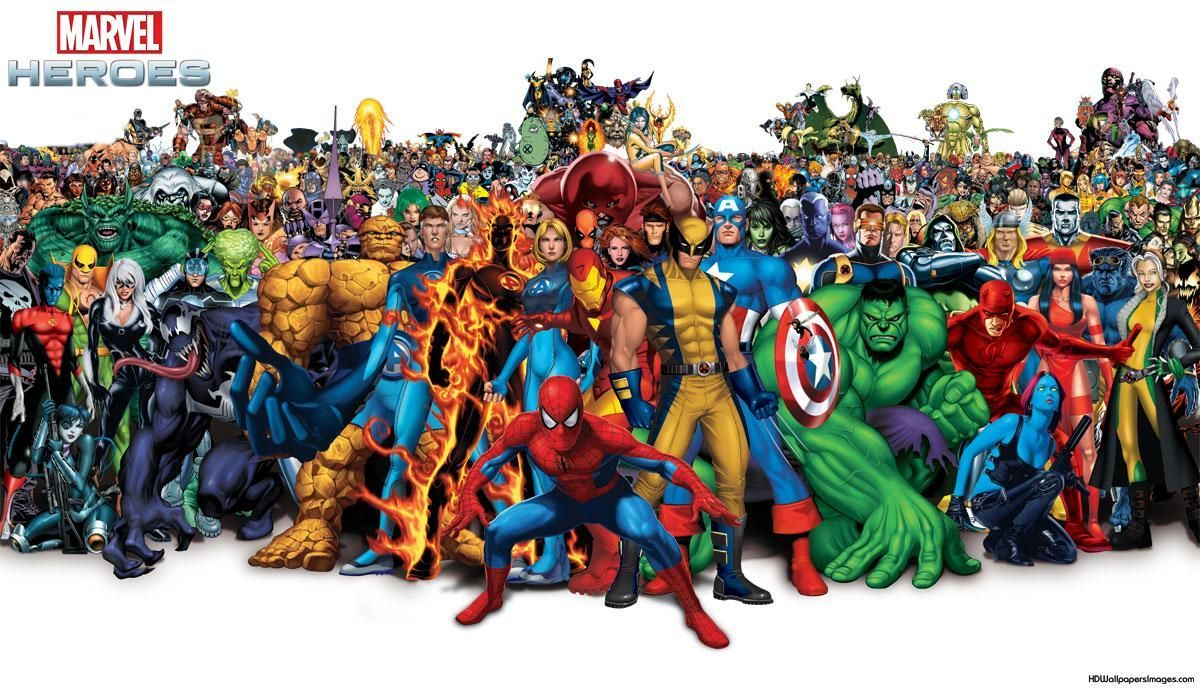 Marvel Heroes Wallpaper Posted By Michelle Simpson