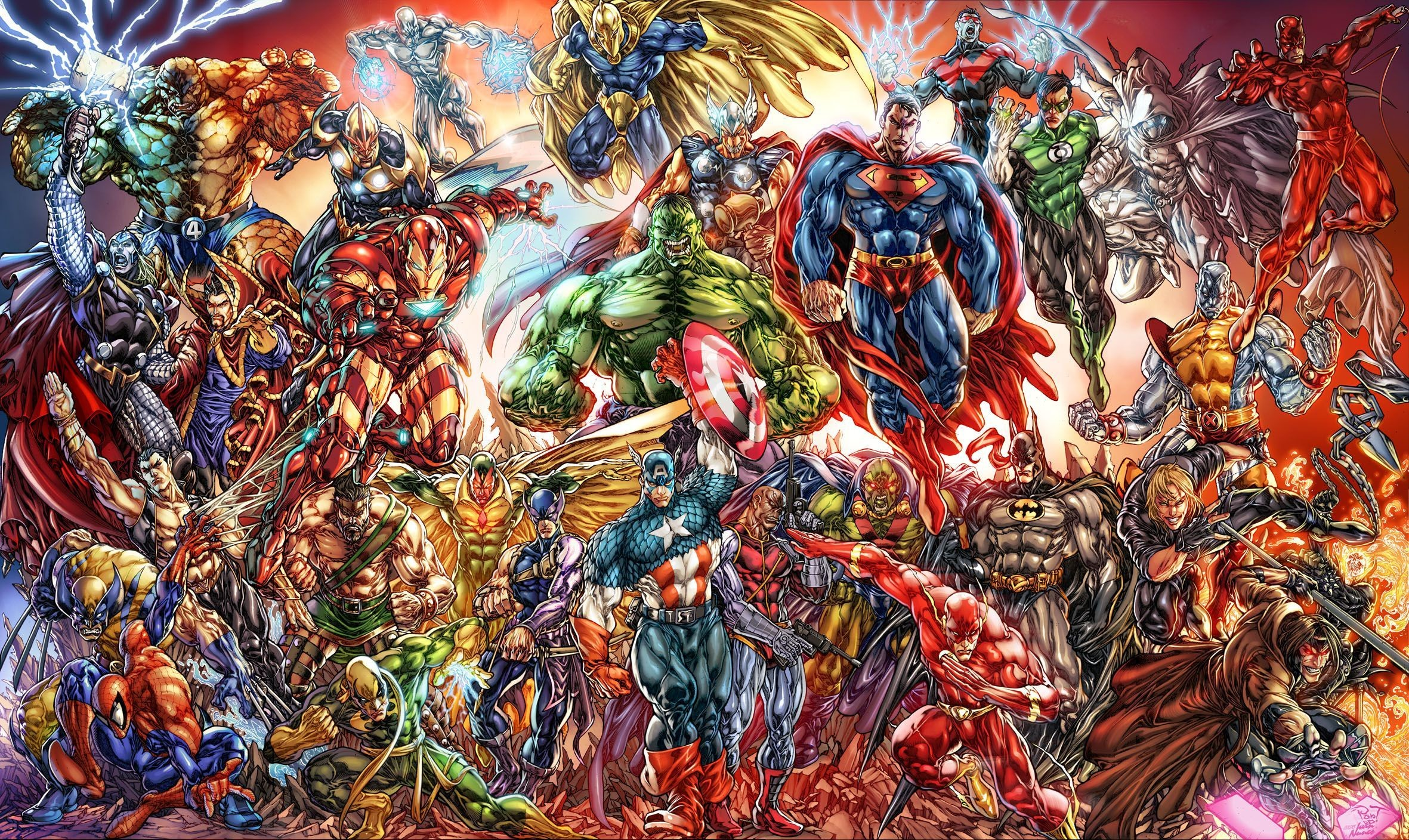 Marvel Ipad Wallpaper posted by Ethan ...