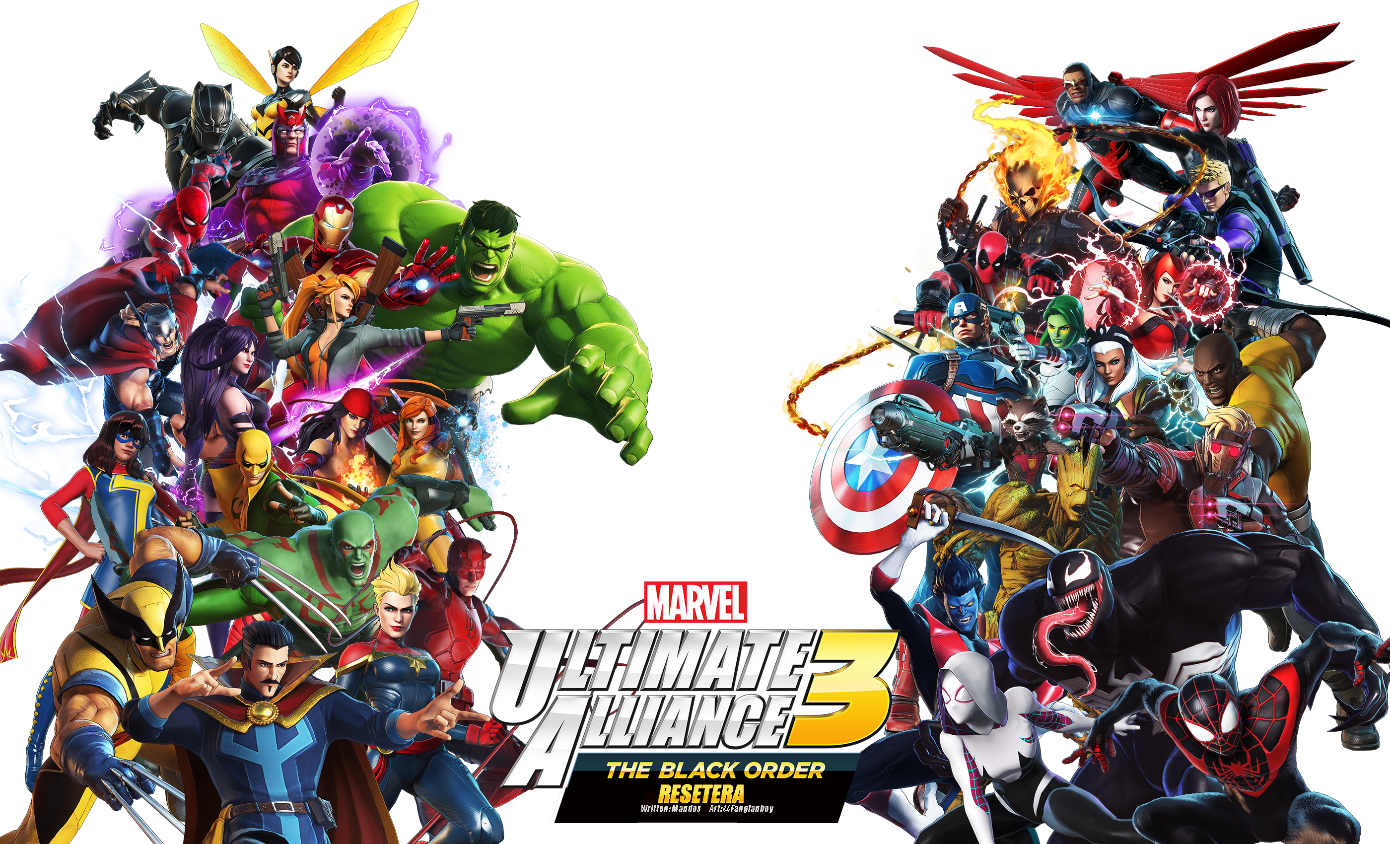 Marvel Ultimate Alliance 3 Wallpaper Posted By Michelle Anderson
