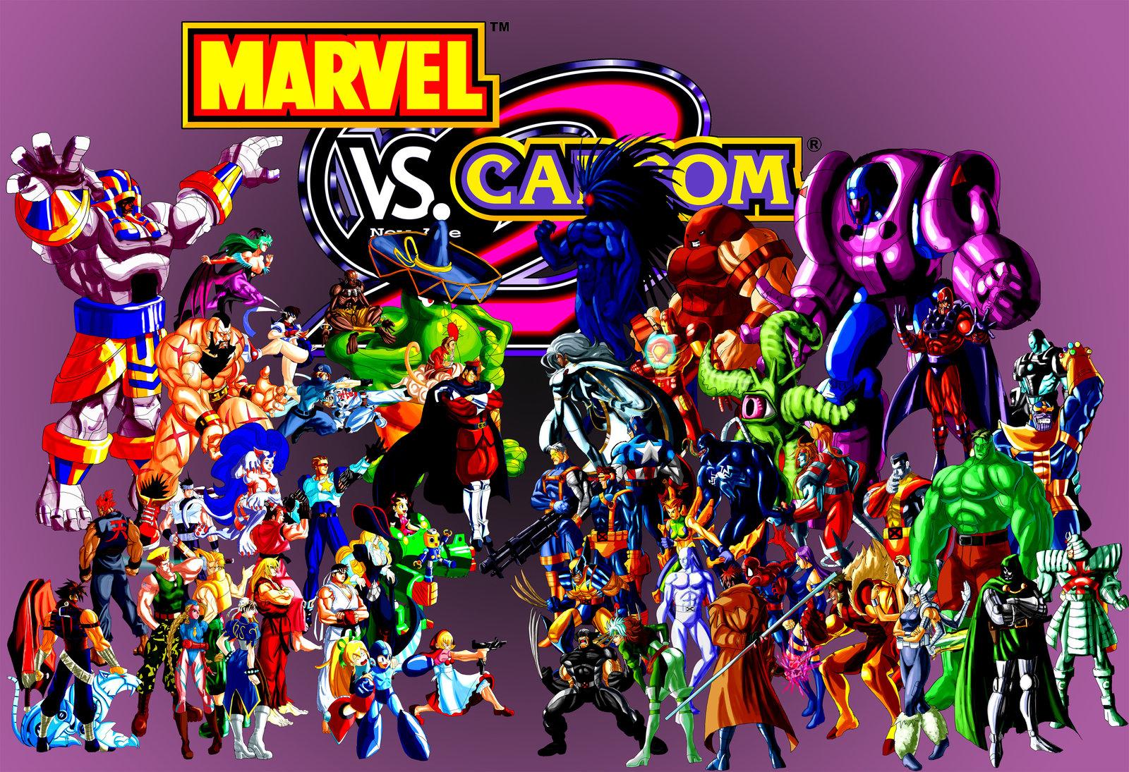 Marvel Vs Capcom 2 Wallpaper